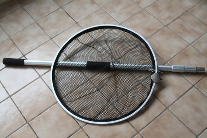 Koikescher mit teleskopstiel m cm technik koi koi